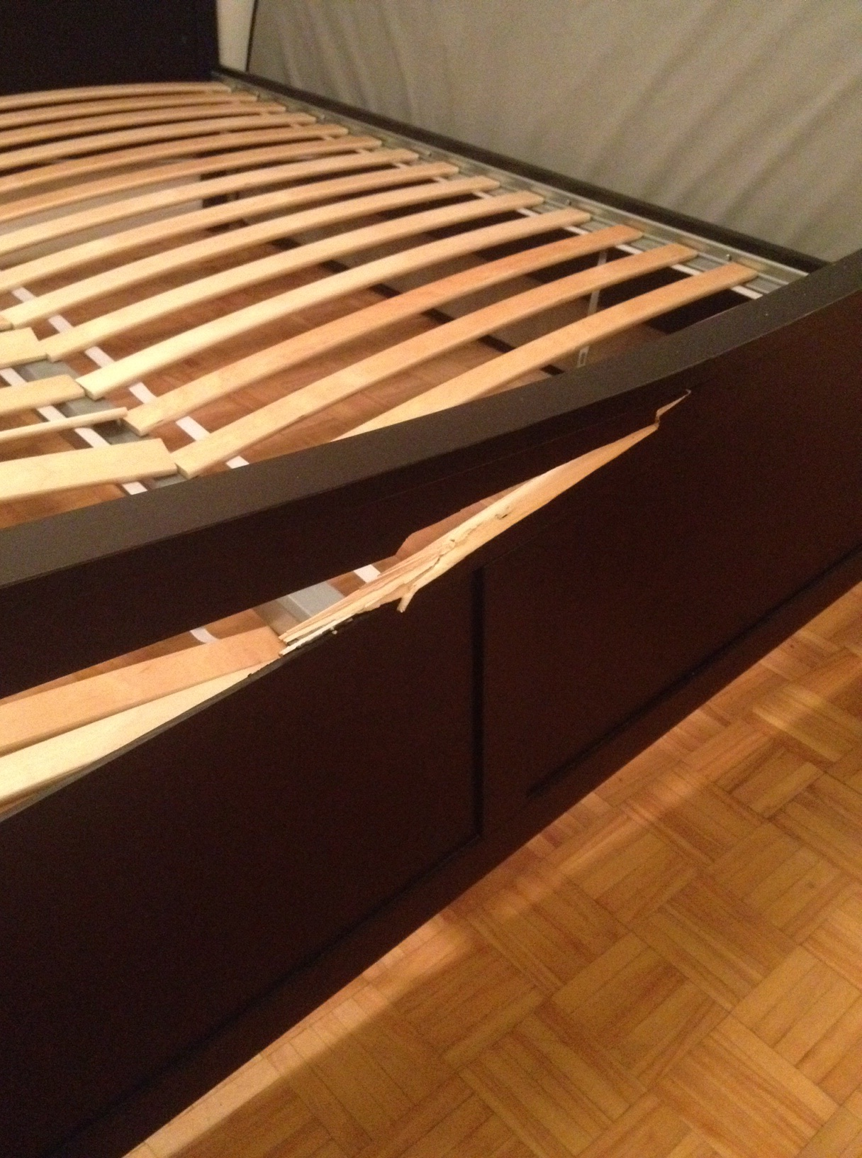 Ikea Bed Frame Broke